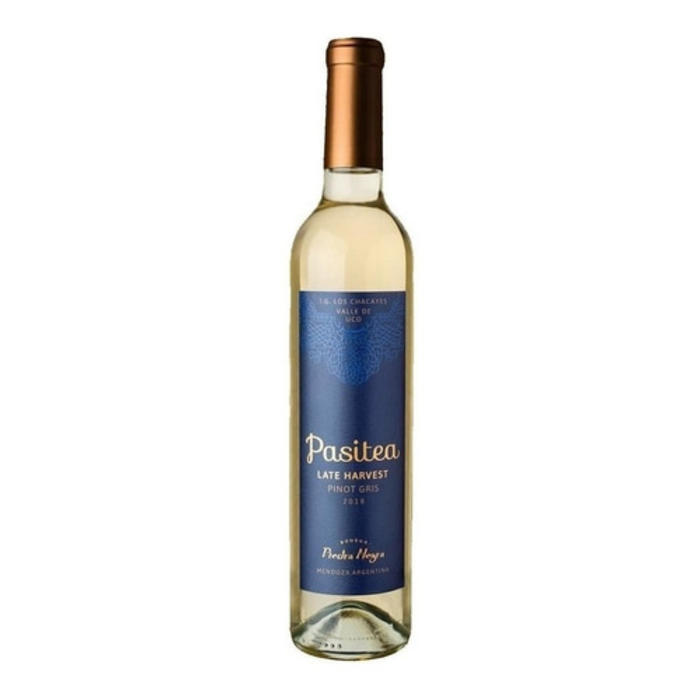 Pasitea Late Harvest Pinot Gris 2018 x500ml. by Piedra Negra