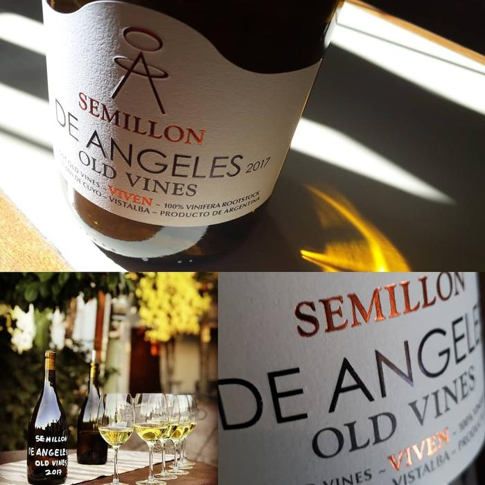 De Angeles Viven Old Vines Semillon 2017
